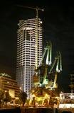 Construção da noite Imagem de Stock Royalty Free