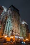 Construção da noite Foto de Stock Royalty Free