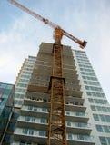 Construção da construção nova Imagem de Stock Royalty Free