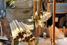 Construção da perfuração Foto de Stock Royalty Free
