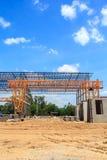 Construção da planta Imagem de Stock Royalty Free