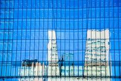 Construção da reflexão Fotografia de Stock Royalty Free