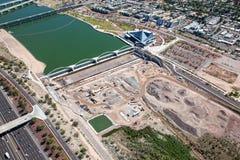 Construção da represa de Lyell do lago Fotografia de Stock Royalty Free