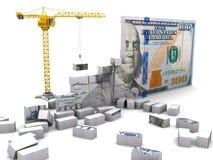 Construção da riqueza Foto de Stock