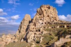 Construção da rocha Cappadocia fotos de stock