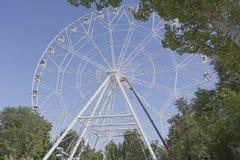 Construção da roda de Ferris 65 medidores Foto de Stock Royalty Free
