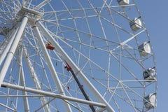 Construção da roda de Ferris 65 medidores Imagem de Stock Royalty Free
