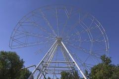 Construção da roda de Ferris 65 medidores em Rostov-On-Don Fotografia de Stock Royalty Free