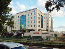 Construção da segurança social em Rishon LeZion Fotografia de Stock