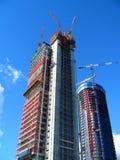 Construção da skyline Fotografia de Stock