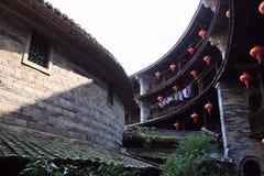 Construção da terra de Fujian Fotografia de Stock Royalty Free