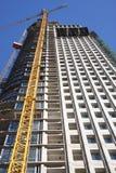 Construção da torre Fotografia de Stock Royalty Free