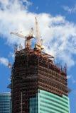 Construção da torre do negócio Imagens de Stock Royalty Free