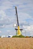 Construção da turbina eólica Fotografia de Stock Royalty Free