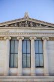 Construção da universidade de Atenas imagem de stock royalty free