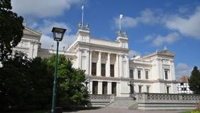 Construção da universidade de Lund filme