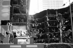 Construção danificada Fotografia de Stock