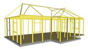 Construção das ferramentas e dos materiais do processo da construção Foto de Stock