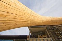 Construção de aço Imagem de Stock Royalty Free