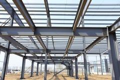 A construção de aço Foto de Stock