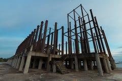A construção de aço Fotografia de Stock