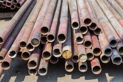 Construção de aço apoiada Foto de Stock