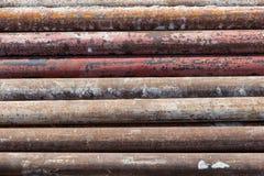 Construção de aço apoiada Imagens de Stock Royalty Free