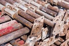 Construção de aço apoiada Imagem de Stock