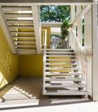 Construção de aço 1 da escadaria Fotografia de Stock Royalty Free