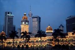 Construção de Abdul Samad da sultão Fotografia de Stock Royalty Free