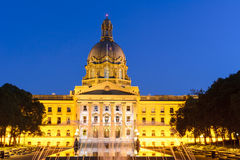 A construção de Alberta Legislature em Edmonton Imagens de Stock Royalty Free