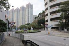Construção de apartamentos residencial do Highrise Imagem de Stock