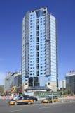 Construção de Apartement no centro da cidade do Pequim, China Imagem de Stock Royalty Free