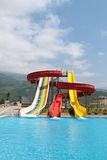 Construção de Aquapark Fotografia de Stock