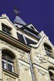 Construção de Art Nouveau (jugendstil), Riga Letónia Fotos de Stock Royalty Free