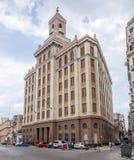 Construção de Bacardi, Havana, Cuba Imagem de Stock