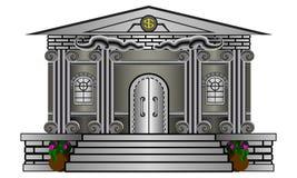 Construção de banco Fotografia de Stock
