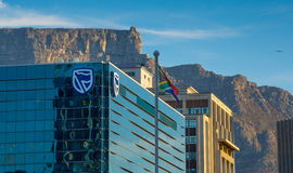 Construção de banco padrão em Cape Town Fotografia de Stock