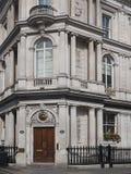 Construção de banco vitoriano imagens de stock royalty free