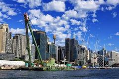 Construção de Barangaroo Imagens de Stock Royalty Free