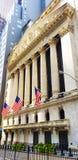 Construção de Bolsa de Nova Iorque fotos de stock royalty free