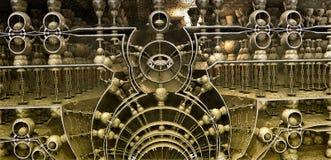 Construção de bronze estranha Fotos de Stock Royalty Free