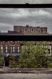 Construção de Brookes - Liverpool do leste, Ohio foto de stock royalty free