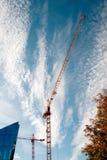 Construção de bu residenciais Imagem de Stock