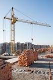 Construção de bu residenciais Imagens de Stock