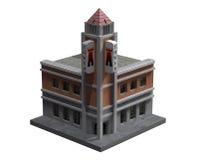Construção de canto da torre Fotos de Stock