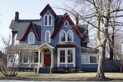 Construção de casa home histórica da arquitetura Imagem de Stock