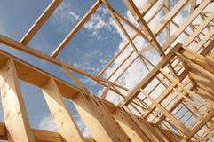 Construção de casas imagens de stock