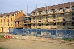 Construção de casas novas Fotografia de Stock Royalty Free
