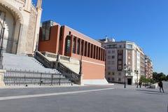 Construção de Cason del Buen Retiro do museu Museo Del Prado de Prado, museu de arte nacional no Madri, Espanha Imagens de Stock